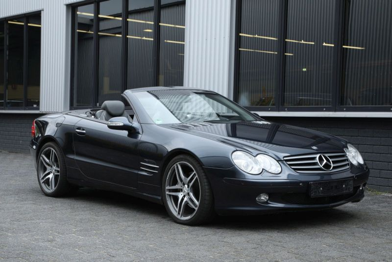 Mercedes Benz SL500 Featured Image